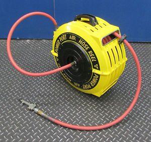 "Power Port 3 8"" x 50' Air Hose Reel"