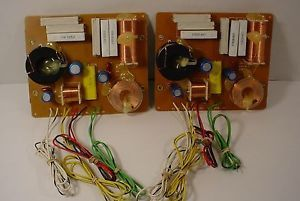 Vintage JBL L80T Speakers Model L80T3 3 Way Crossover Boards