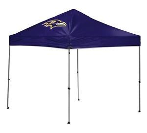 Baltimore Ravens 9 x 9 Canopy Tent Shelter Tailgate Camping Outdoor NFL