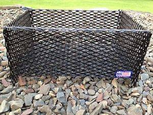 Outdoor Fireplace Campfire Wood Pellet Basket Fireplace Insert for Wood Stoves