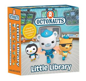 Octonauts Little Library Books Set of Five Books in Box