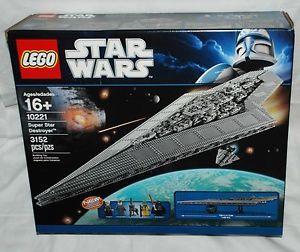 Lego Star Wars 10221 Super Star Destroyer 4 ft Long Huge Factory SEALED Set