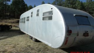 1952 Royal Spartanette by Spartan Vintage Travel Trailer 35 Feet Long