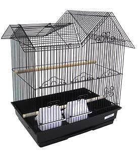 "Villa Top Bird Cage 16x12x20"" Cockatiel Lovebird Canary Parakeet 1754"