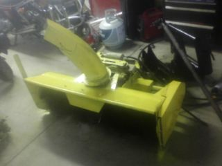 """John Deere 46"""" Snowblower with Quick Hitch and Both Shafts Fits 425 445 455"""