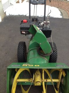 John Deere Snowblower 8HP 26 Inch