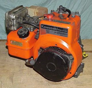 Kawasaki FA130D Horizontal Shaft Gas Engine Motor Log Splitter Lawn Mower Pump