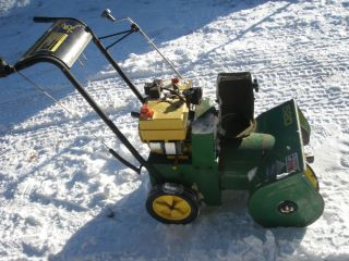 John Deere Snowblower Tecumseh Motor Engine 5HP 5 HP Snow Blower