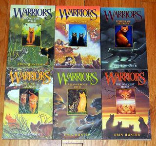 26 Warriors Books New Prophecy Power of 3 Omen of Stars Erin Hunter