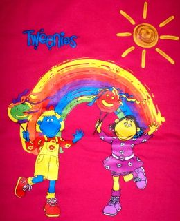 New Hot Pink Tweenies T Shirt Bella Fizz Rainbow