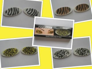 Magic Instant Eyes Eye Shadow Tattoo Animal Print Tiger or Leopard Dance Party