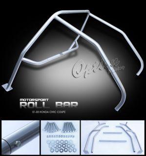 New JDM EM2 2dr Racing Roll Cage Bar Tube Complete Kit