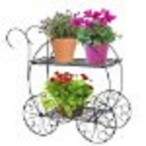 Flower Stand Garden Cart Flower Cart Yard Decoration Plant Stand Porch