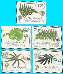 New Zealand Stamp 2013 NEWZ1302 Native Ferns Plant Flora Tree Nature