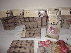 Ralph Lauren Surrey Garden Standard King Euro Pillow Sham Pillowcases Sheet