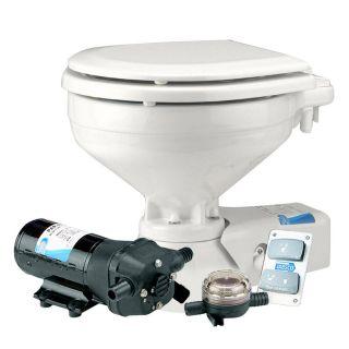 Jabsco Regular Electric Toilet w Raw Water Intake Supply Pump Marine Plumbing
