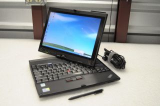 IBM Lenovo X200 ThinkPad Type 7450 AD5TABLET Laptop Computer 320
