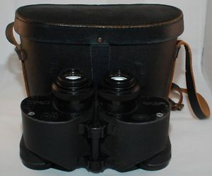 Sard 6x42 Mark 43 Binoculars w Case BU Aero Navy Mark 43 Stock No R88 B 308