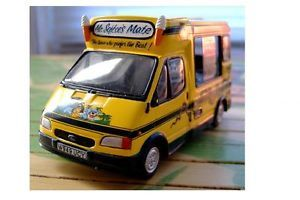 1 43 Ford Transit Mister Softee