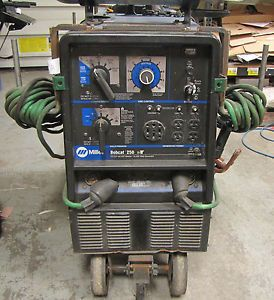 Miller Bobcat 250 Portable TIG MIG Arc Welder Generator LPG Gas Pick Up Only