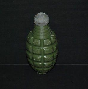 Vintage Esquire Novelty Pineapple Green Grenade Cap Gun Toy Metal Top $1