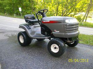 2003 Craftsman LT1000 Riding Mower 17 5HP 42