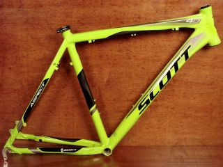 "Scott Aspect 40 XL Neon Green Mountain Bike Frame 22"" New"