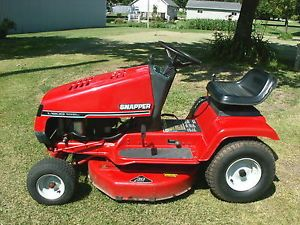 "Snapper Riding Lawn Tractor 12hp 30"" Cutting Deck Very Nice Mower"