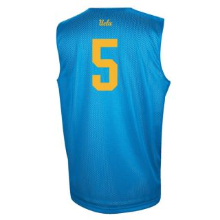 UCLA Bruins Adidas College Basketball 5 Practice Jersey Blue