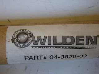 Wilden Diaphragm Pump Parts 04382009