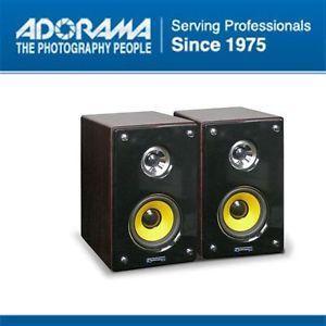 "Technical Pro MRS8UR 8"" 2 Way Active Passive Studio Monitor Speaker System"