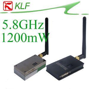 5 8g 1200mW Video TX RX 5 8 GHz Wireless AV Transmitter Receiver 5 8GHz FPV Kit
