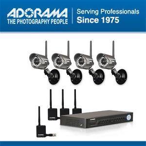 Lorex 8 CH 500GB HDD DVR with Digital Wireless Security Camera System