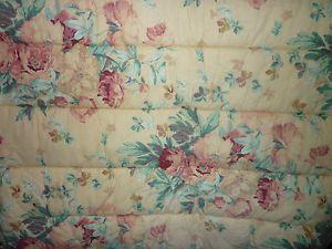Ralph Lauren Elsa Grasslands Rose Floral Full Queen Comforter