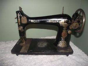 Vintage Singer Sewing Machine Model 27 Treadle Sewing Machine