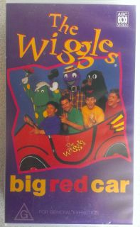 The Wiggles Big Red Car VHS Video