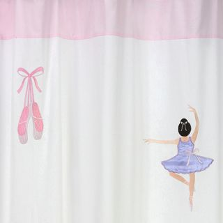 JoJo Designs Ballerina Ballet Dancer Shower Curtain