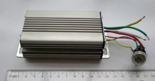 48V 10A 500W DC Motor Speed Controller with Enclosure