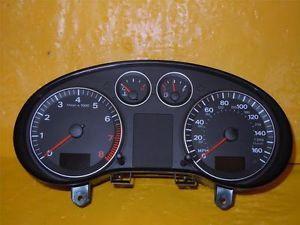 06 07 08 Audi A3 Speedometer Instrument Cluster Dash Panel 56K