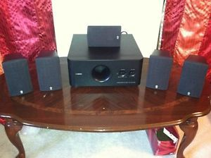 Yamaha 5 Speaker NS AP280A Surround Sound with YST FSWO5O Powered Subwoofer