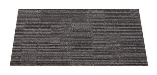 Interface Flor Black Chevron Carpet Panels
