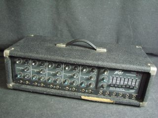 Peavey XR 500 Powered Mixer XR500 5 Channel Mixer Head