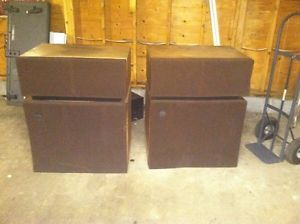 Vintage Altec Lansing Model 19 Speakers on PopScreen