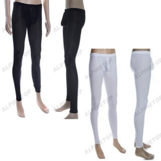 New Mens Thermal Long John Pants Sexy Stretch Underwear