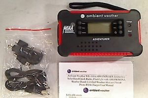Ambient Weather WR 111B Adventurer Am FM 7 Channel Emergency Radio