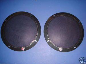 Rockford Fosgate Speaker Grill Cover 6 5 T1652 New RARE One Pair