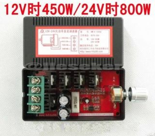 9 28V 30A DC Motor Speed Control PWM HHO RC Controller 12V 24V Max 800W New