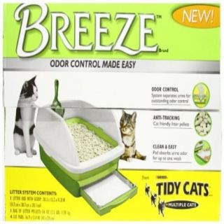 1 Count Tidy Cats Breeze Litter Box System Home Pet Supplies Cat Accessories New