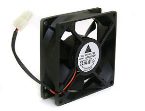 Delta 80mm 12V DC Brushless Fan 24A 3000 RPM AFB0812H