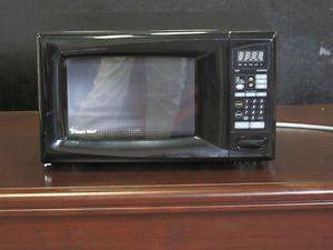 Magic chef microwave oven 0 9 cu ft 900w black model mcd990arb in box